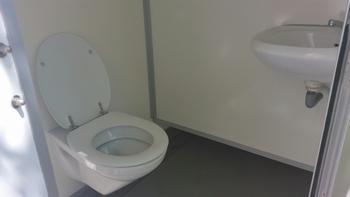 Dames en heren toiletgroepen