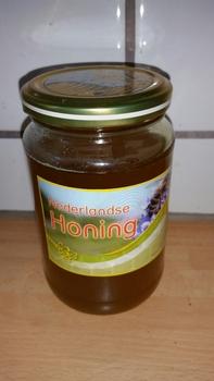 Honing van onze carnica bijen